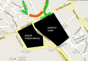 chiusura piazza indipendenza