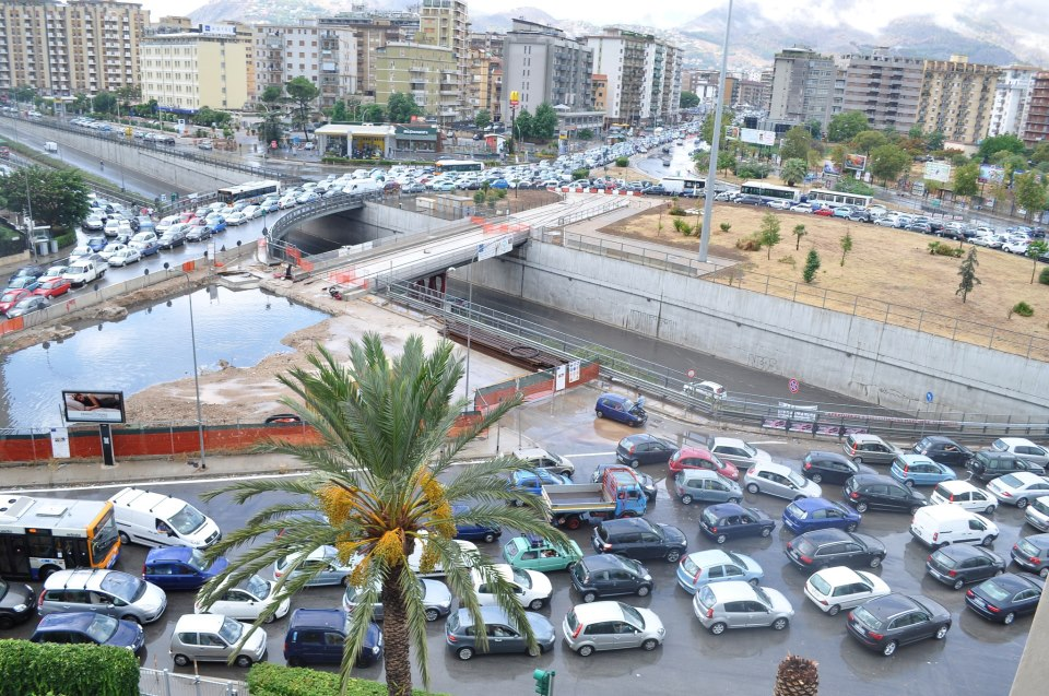 Palermo 5a citt pi trafficata al mondo mobilita palermo for Mobilita palermo