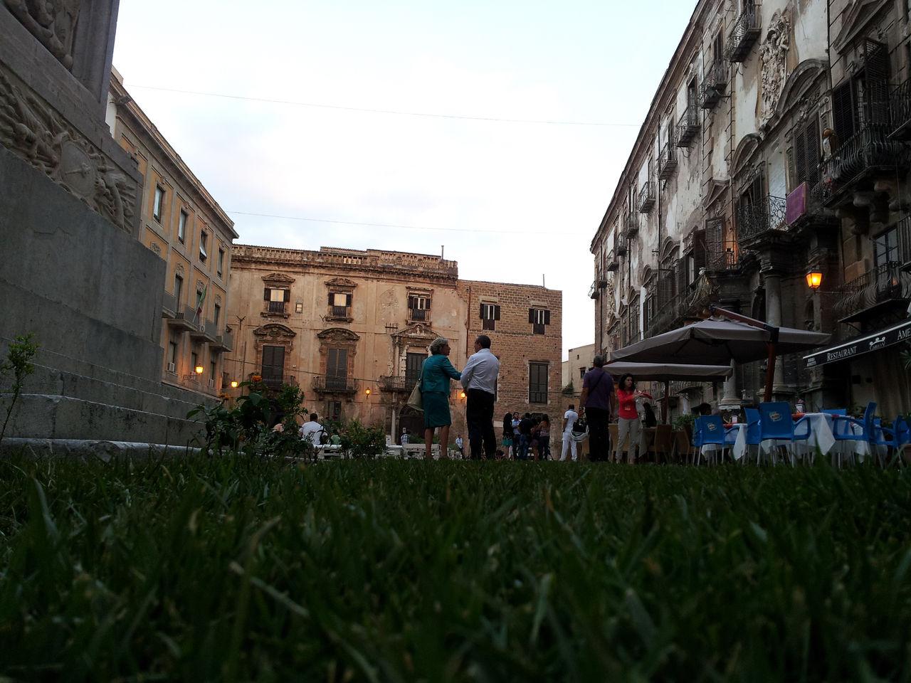 Foto piazza bologni pedonalizzata mobilita palermo for Mobilita palermo