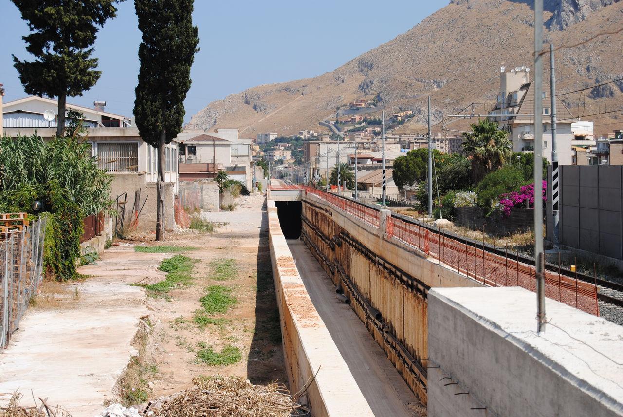 Passante ferroviario la nuova galleria a cardillo for Mobilita palermo
