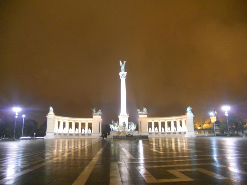 Budapest -Piazza degli eroi
