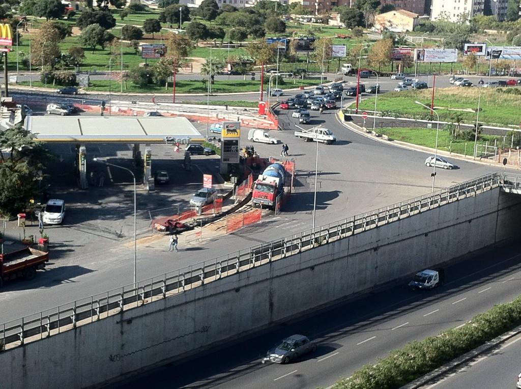 Tram linea 3 inizio lavori sulla circonvallazione for Mobilita palermo