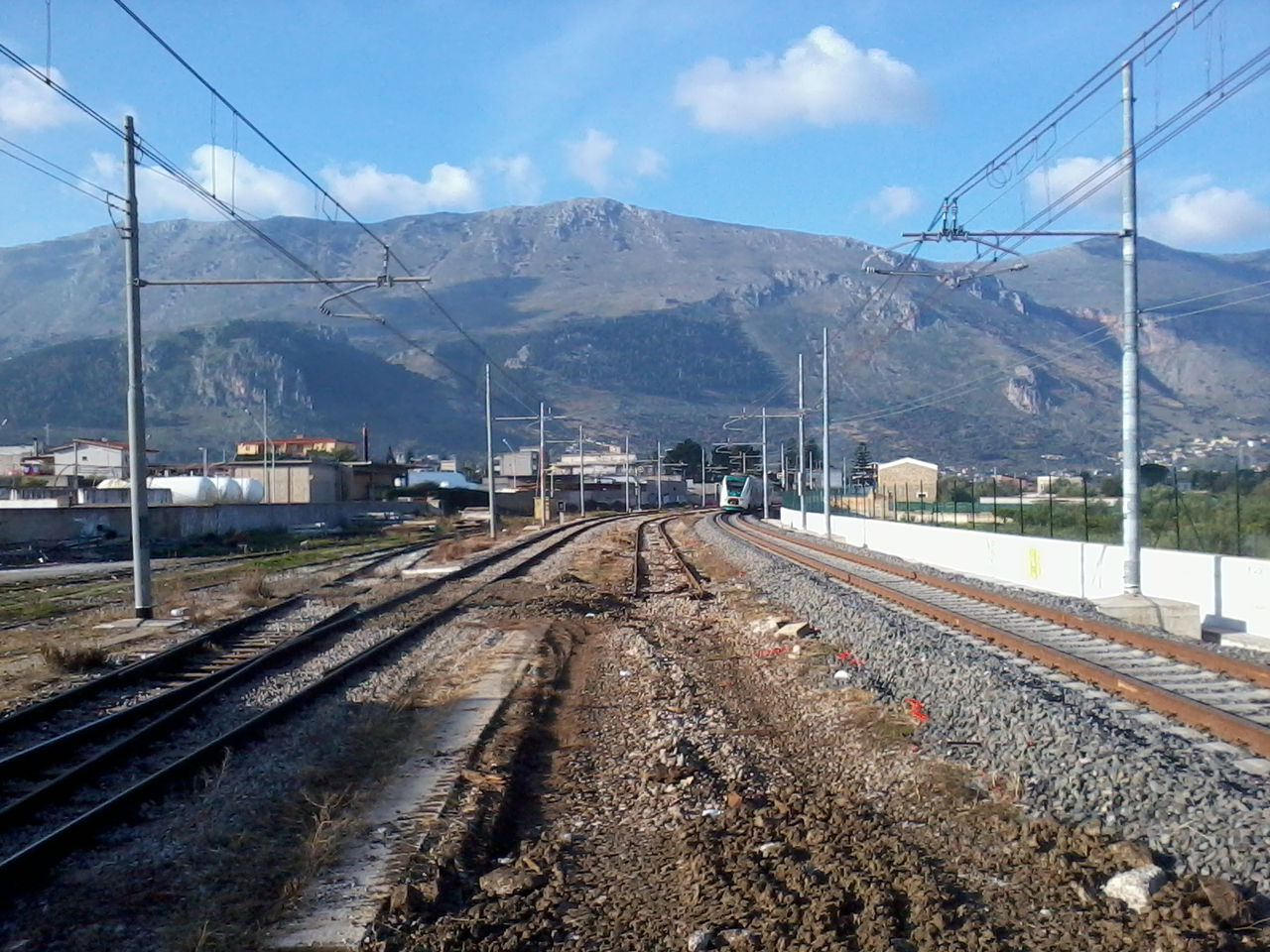 Passante ferroviario carini ecco il nuovo raddoppio for Mobilita palermo