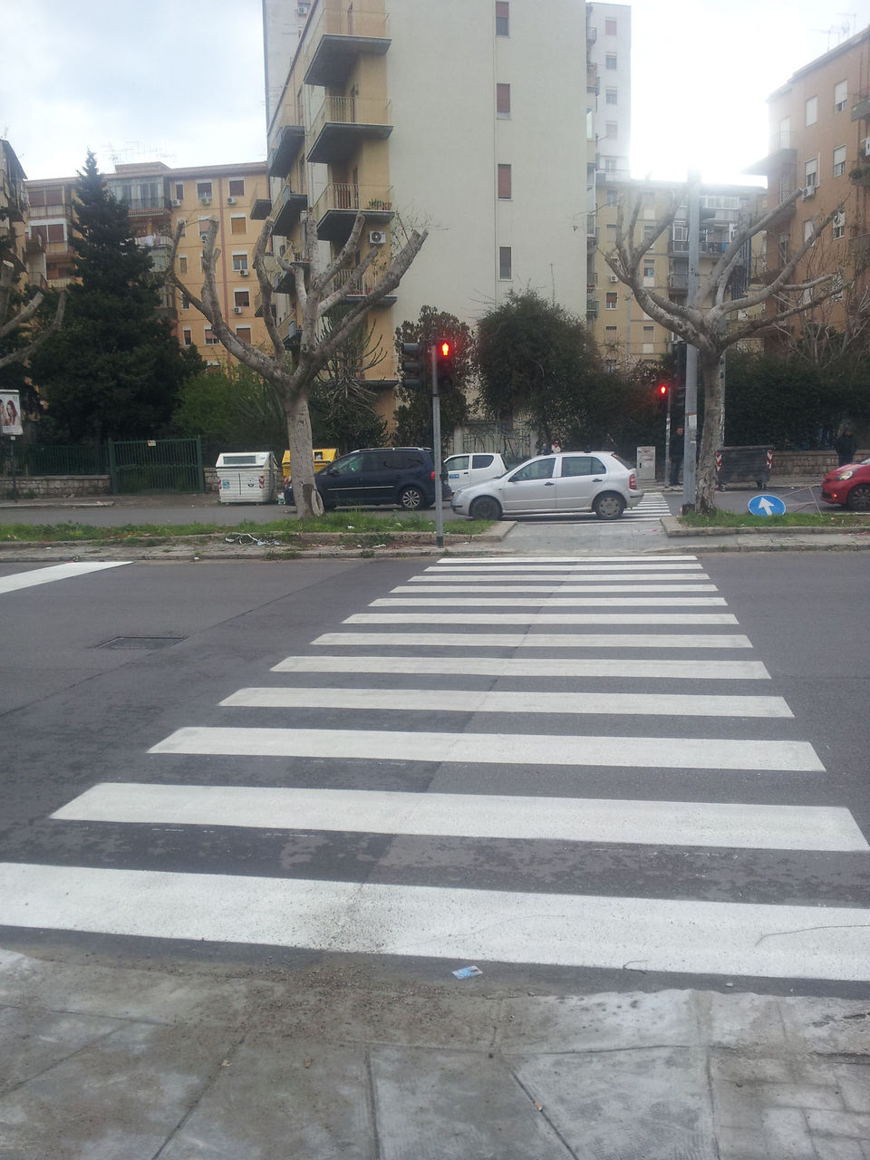 Attivato il nuovo semaforo pedonale di via e basile for Mobilita palermo