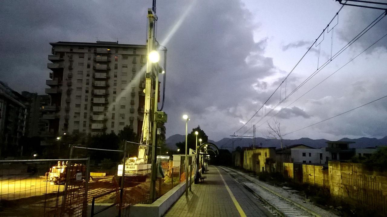 Video passante ferroviario lavori in piazzale francia for Mobilita palermo