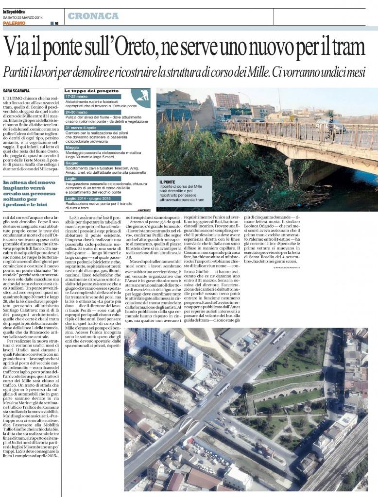 La Repubblica pa 22.03.2014