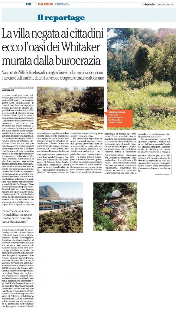 La Repubblica pa 06.04.2014