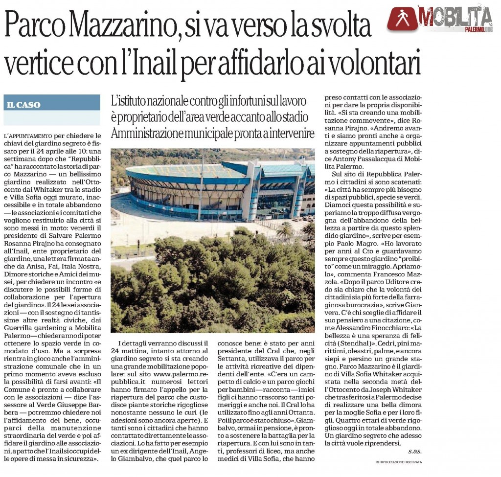 La Repubblica pa 13.04.2014