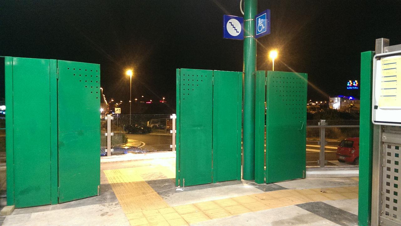 Foto aperta al pubblico la nuova fermata roccella for Mobilita palermo