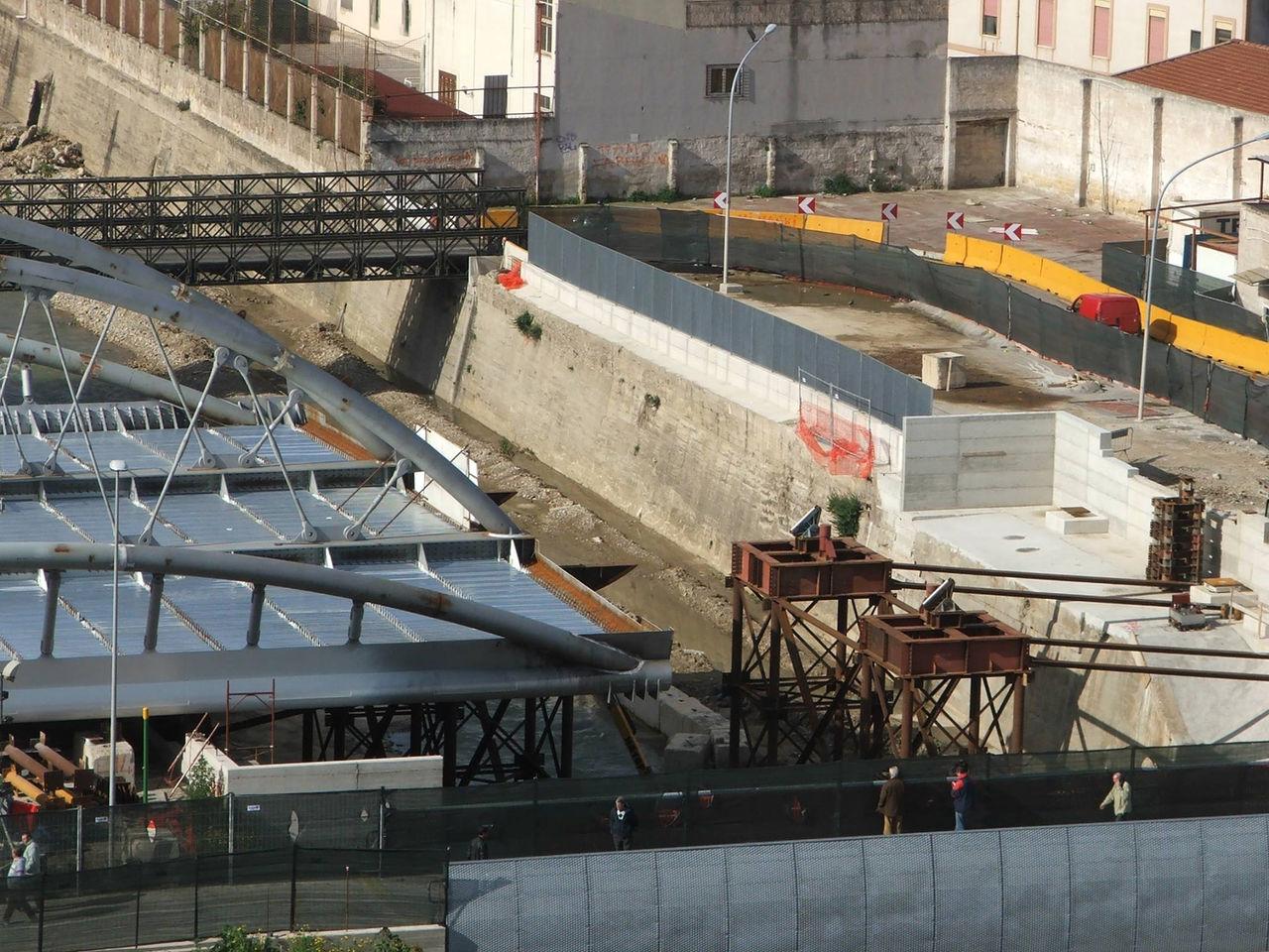 Foto il varo del nuovo ponte di piazza scaffa mobilita for Mobilita palermo