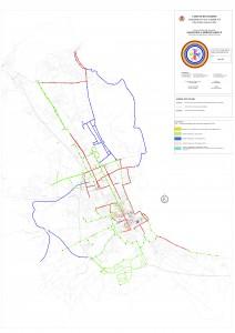 tavola 4 - Progetto della rete ciclabile - Priorità degli interventi