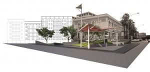 Progetto sistemazione isola spartitraffico Balsano/Volturno