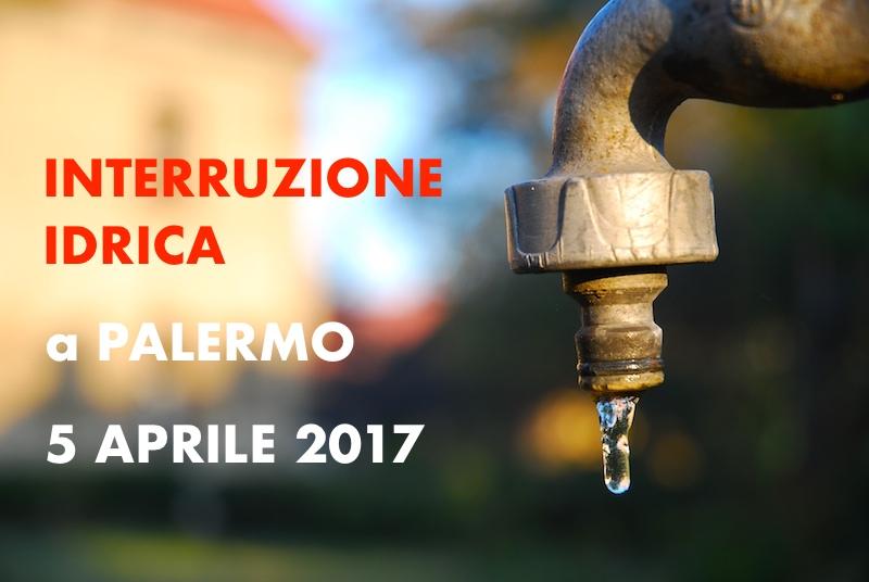 Amap mercoled 5 aprile interruzione idrica alla for Mobilita palermo