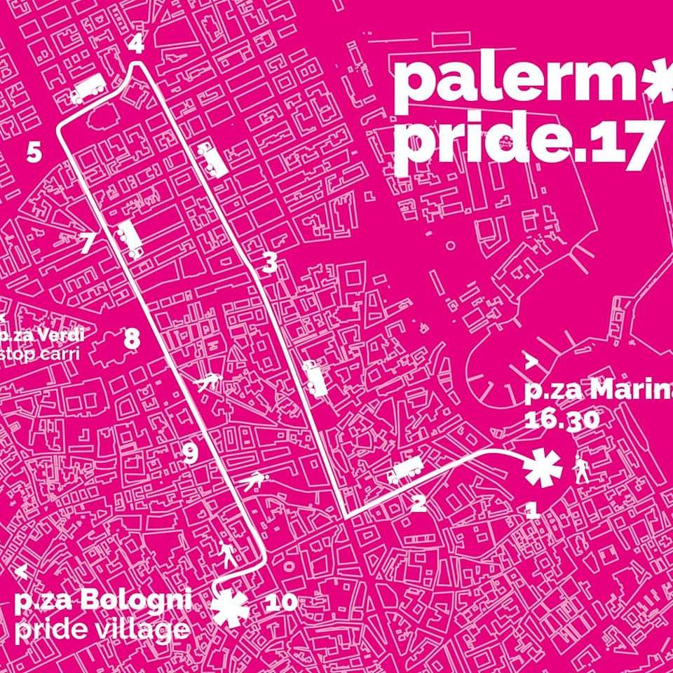 Mappa 1 luglio palermopride mobilita palermo for Mobilita palermo