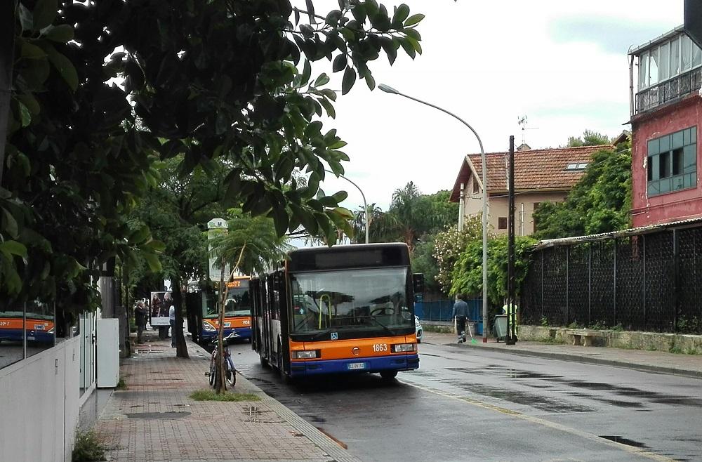 Amat domenica 8 ottobre cambia il percorso della linea for Mobilita palermo