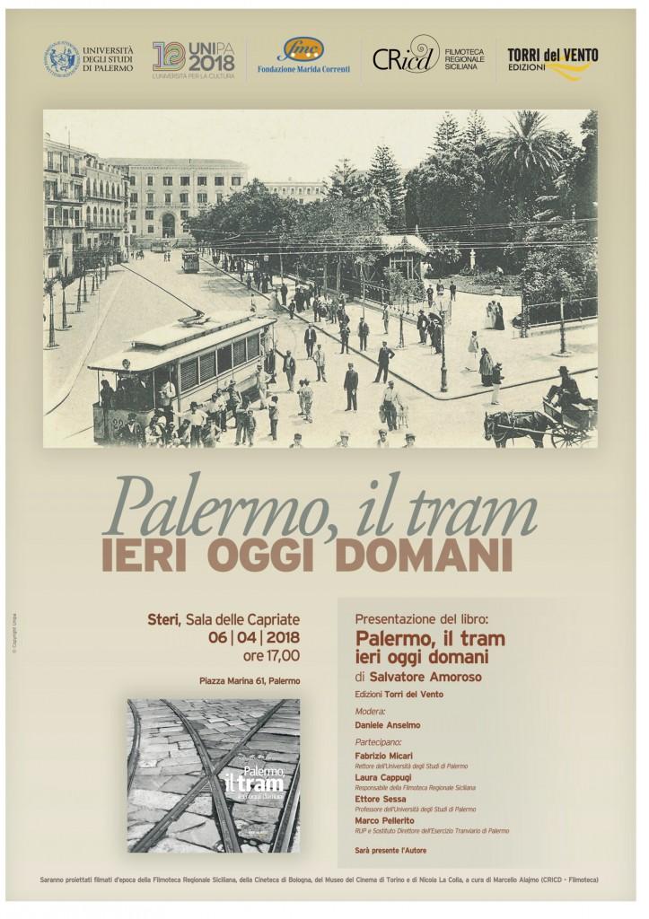 Presentazione del libro palermo il tram ieri oggi domani for Mobilita palermo