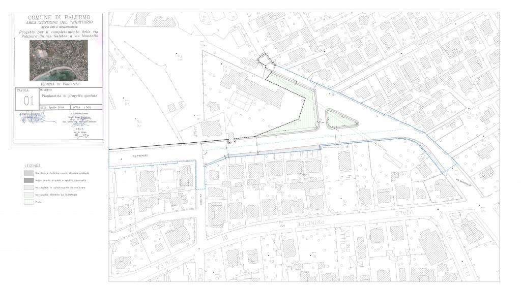 perizia tav.1 Planimetria di progetto quotata aperto