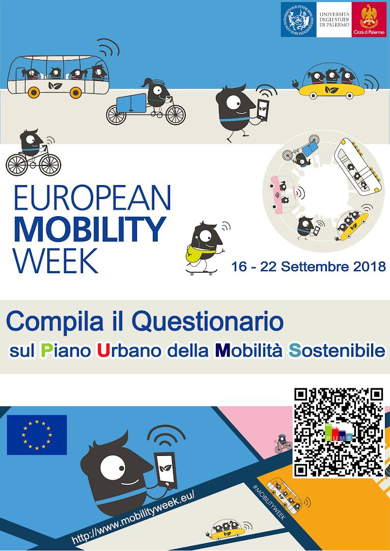 Mobilit online in questionario sulla mobilit for Mobilita palermo