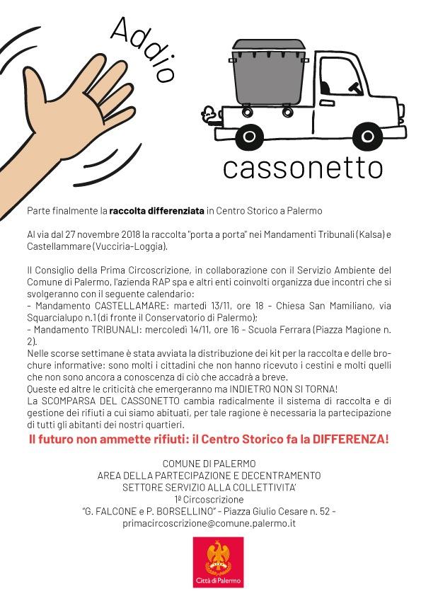 Raccolta Differenziata Palermo Calendario.Raccolta Differenziata La Prima Circoscrizione Indice Due