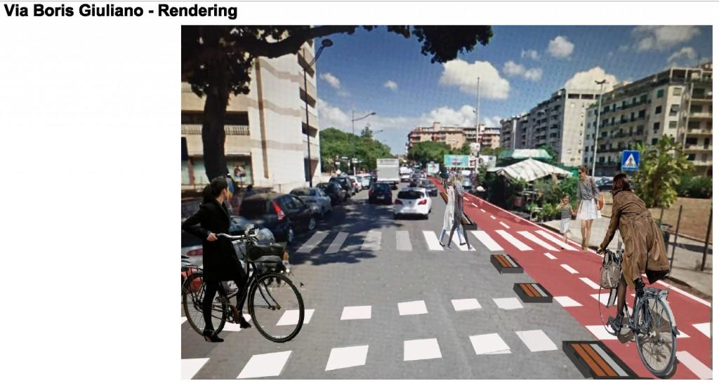 Una nuova pista ciclabile e parcheggi automatizzati per for Mobilita palermo