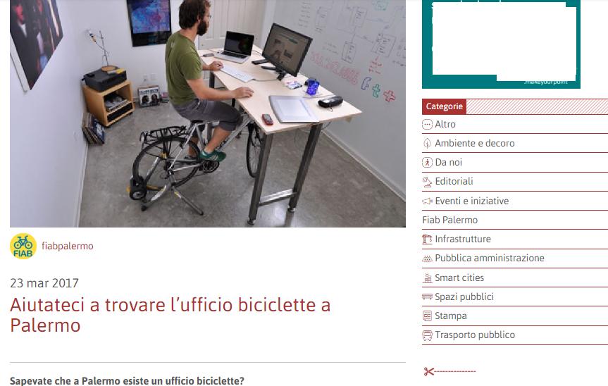 ufficio biciclette