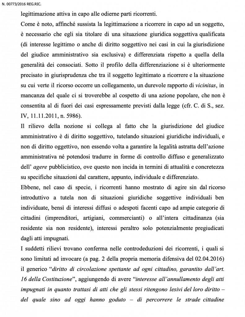 SENTENZA ZTL MERIGHI E C.ti 12