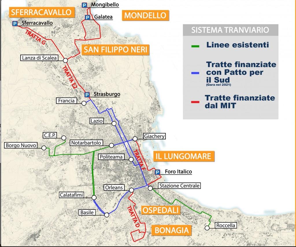 rete tram