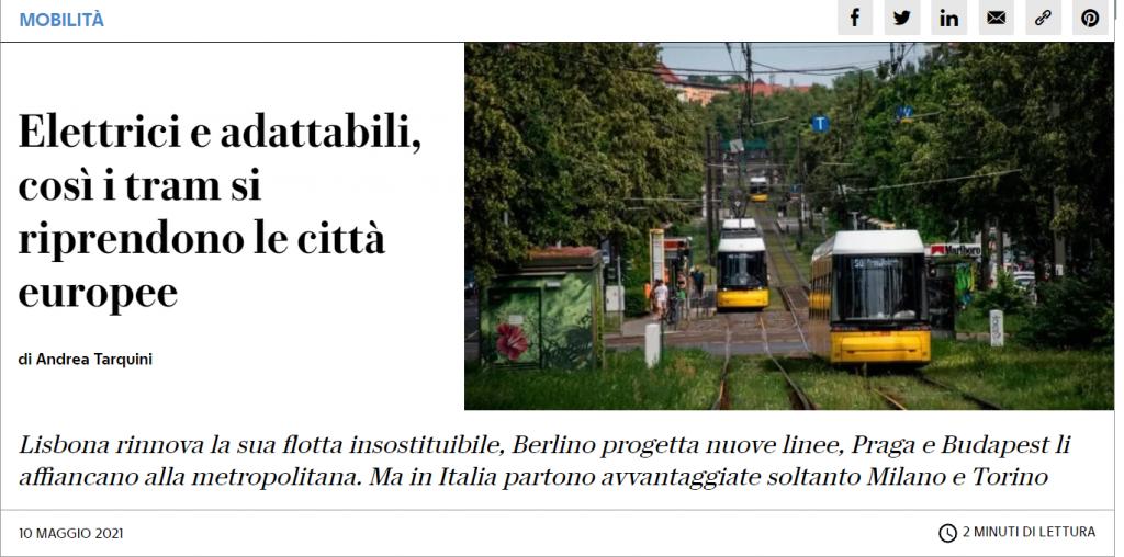 tram europa